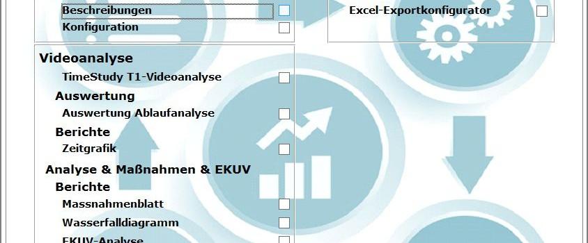 Videoanalyse mit Process-Flow-Chart