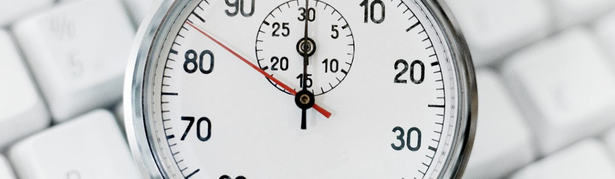 Bei Zeitaufnahmen Zeit sparen